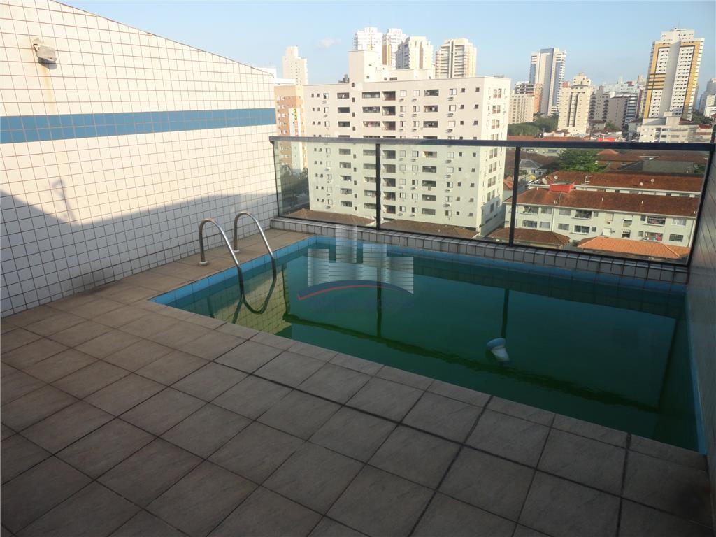 Cobertura residencial à venda, Campo Grande, Santos.