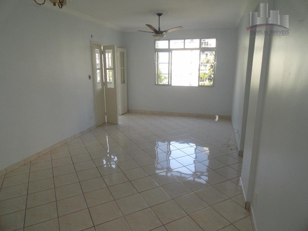 Apartamento residencial à venda, Pompéia, Santos.