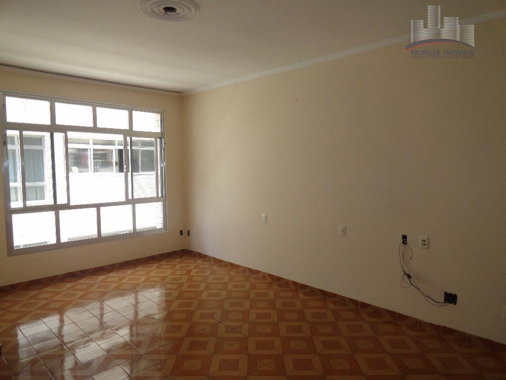 Apartamento residencial para locação, Embaré, Santos.
