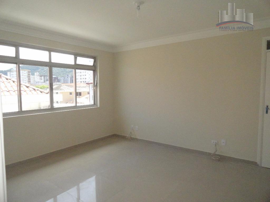 Apartamento à venda, Campo Grande, Santos.