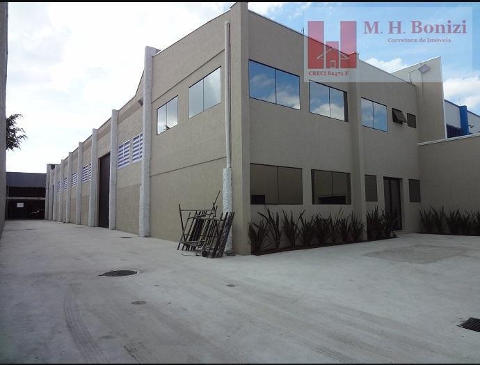 Galpão industrial para locação, Jardim Nova Itaquá, Itaquaquecetuba, SP.