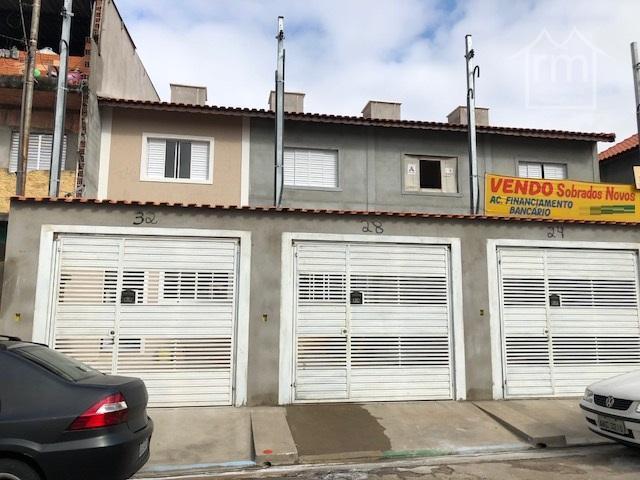 Sobrado residencial à venda, São Miguel Paulista, São Paulo.