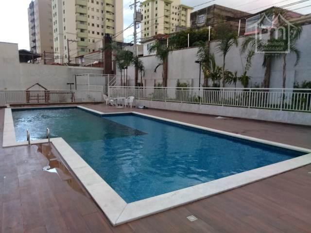 Apartamento com 2 dormitórios à venda, 52 m² por R$ 359.900 - Vila Gustavo - São Paulo/SP