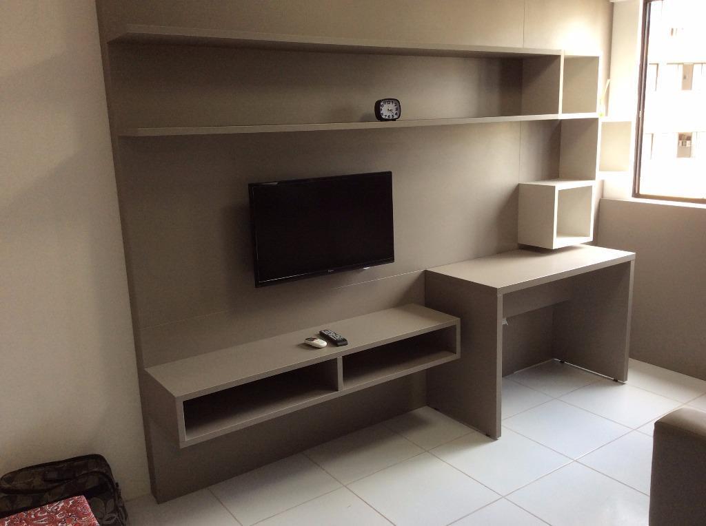 Studio residencial para locação, Parnamirim, Recife.