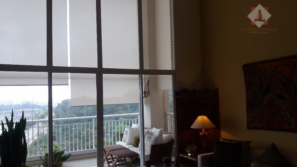 Apartamento de alto padrão no Panamby, 300 m2. de conforto e charme, agenda uma visita.