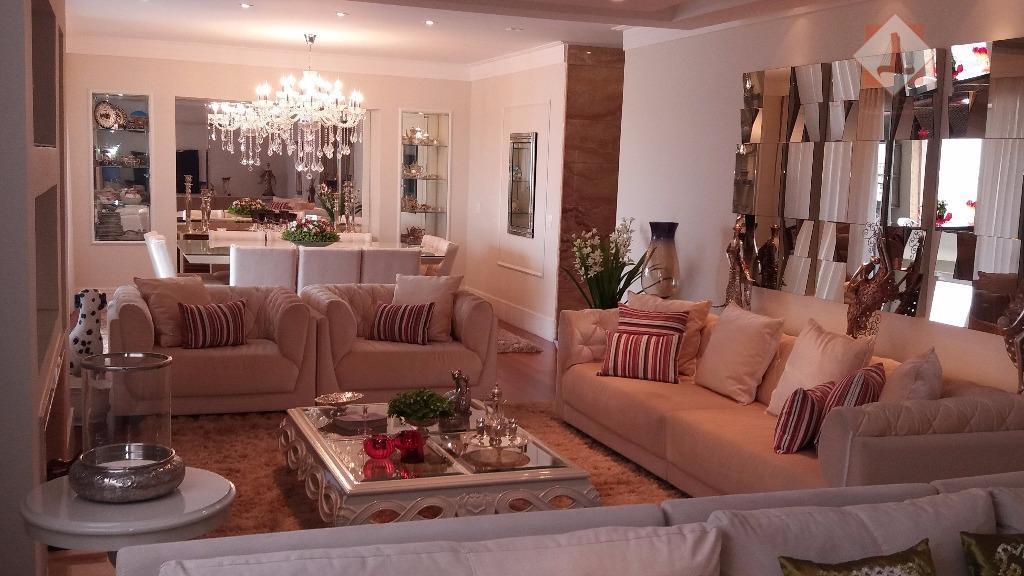 alto padrão, finamente decorado, 281 mt.2 mais 20 m2. de churrasqueira, projeto do arquiteto marcos otsuka,...