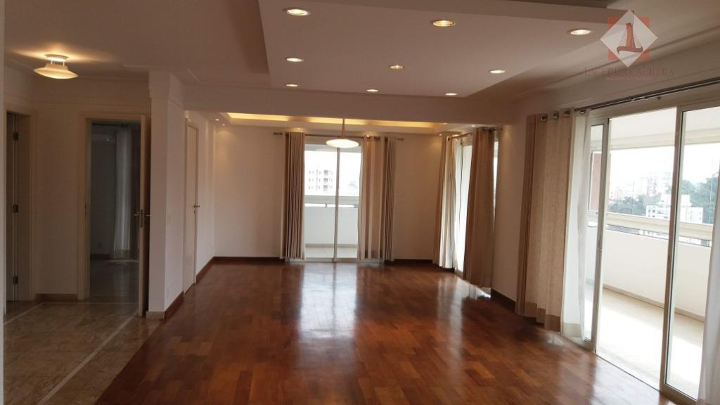 Apartamento com 4 dormitórios, venda ou locação, 261 m² por R$ 1.590.000 - Vila Andrade - São Paulo/SP