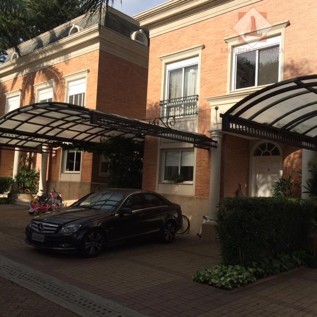 Casa em condomínio fechado com 4 dormitórios à venda, 341 m² - Brooklin Paulista - São Paulo/SP