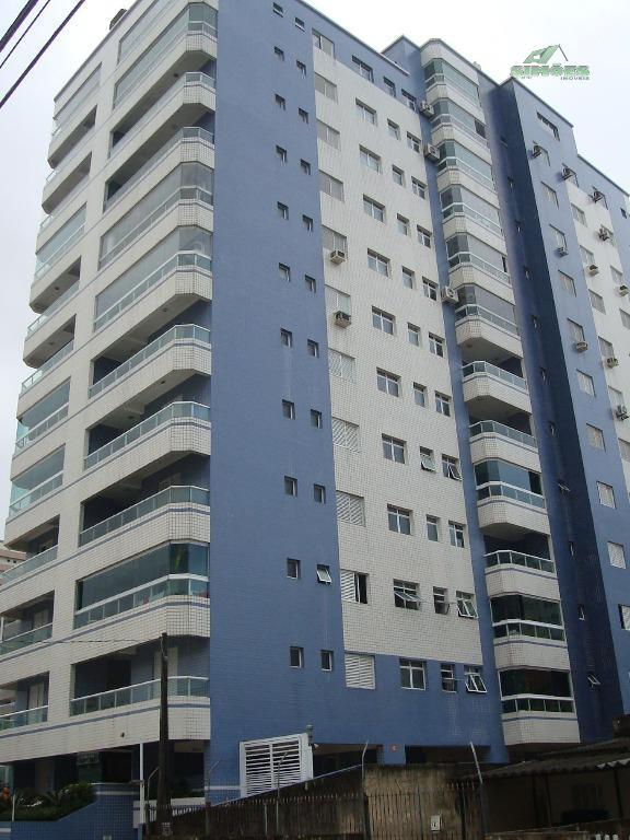 Lindo apartamento com 2 dormitórios na Guilhermina em Praia Grande
