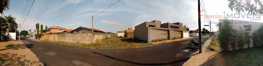 Terreno residencial à venda, Jardim Alah.