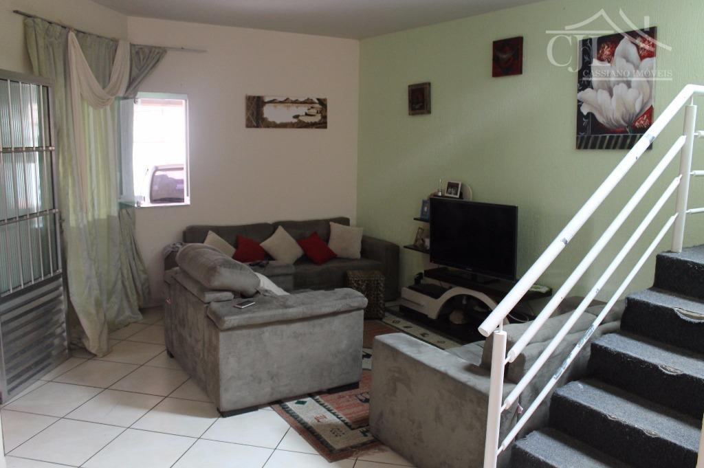 Casa- Sobrado à venda, Bairro Centro, Biritiba Mirim - SP