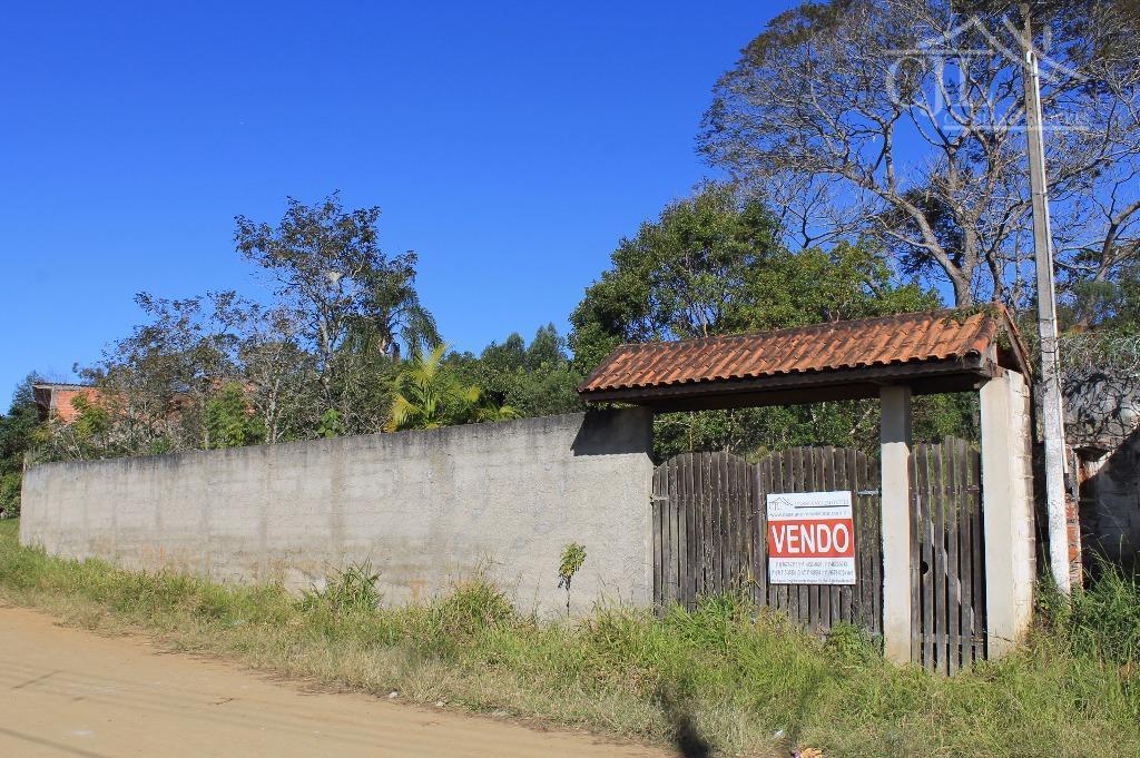 Terreno rural à venda, Castellano, Biritiba Mirim.