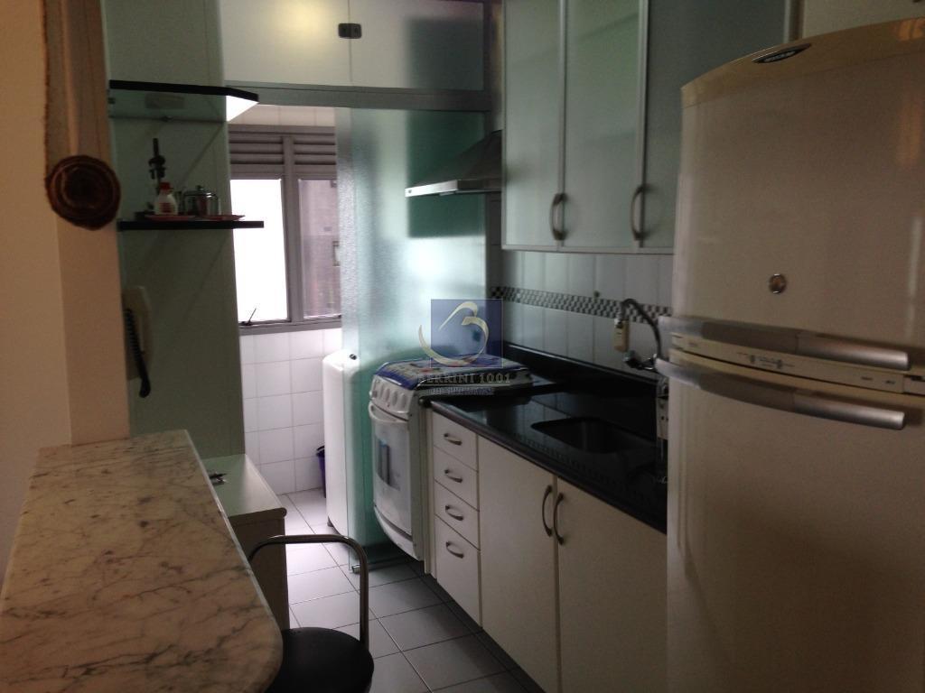 Apartamento residencial para locação, Berrini, São Paulo.