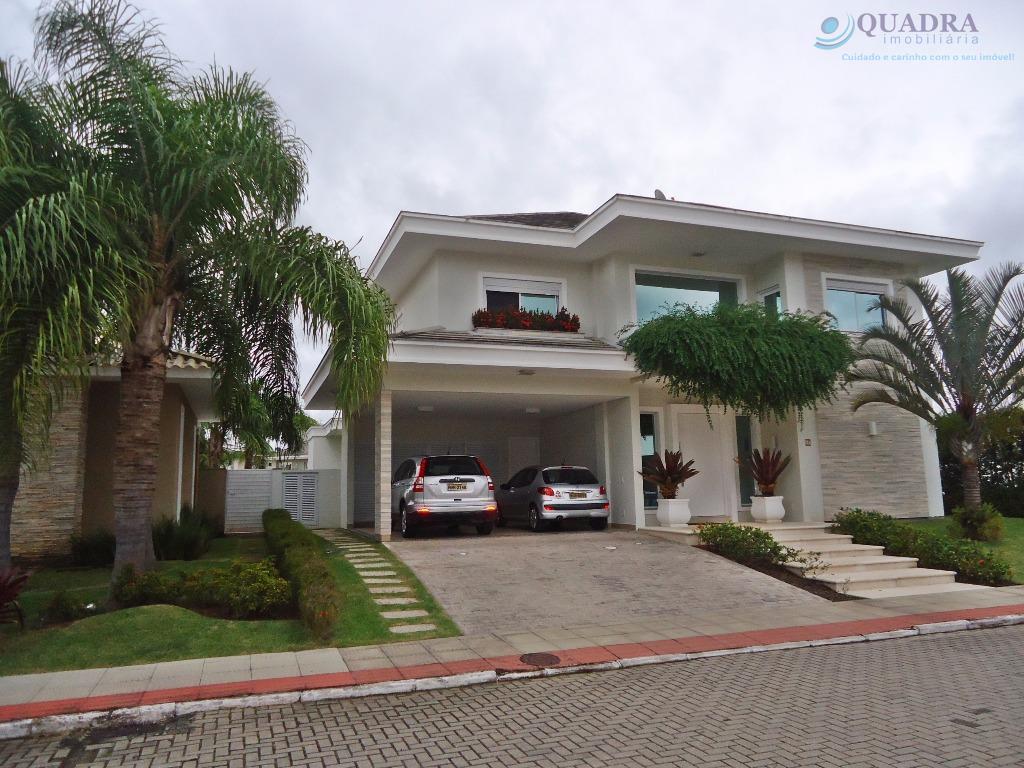 Casa de 5 Dormitórios com 5 Suítes, Condomínio Fechado, Santa Mônica, Florianópolis.