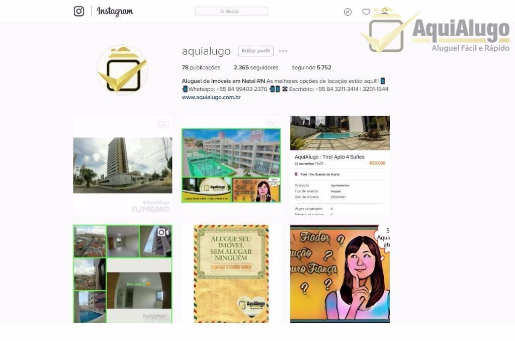 Atualizações Diárias no Instagram @aquialugo