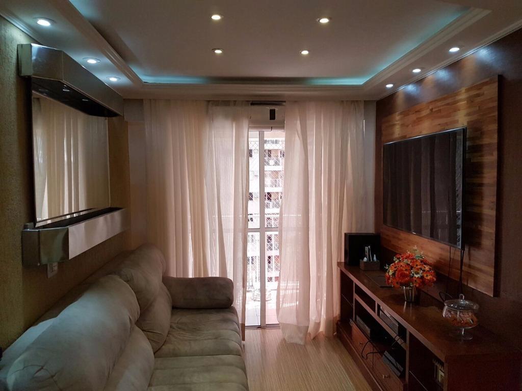 Apartamento mobiliado 3 quartos, Parque das Àguas