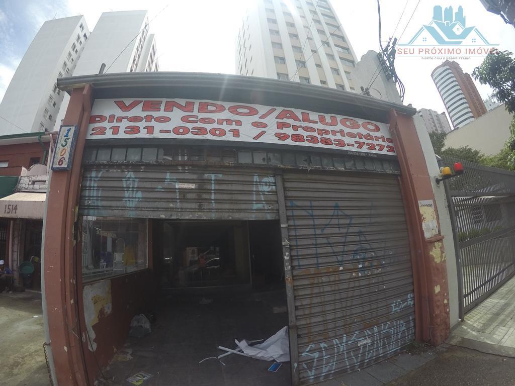 Ponto comercial para venda e locação, Perdizes, São Paulo - PT0002.