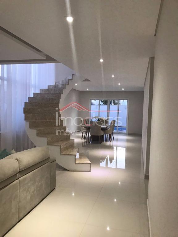Casa residencial à venda, Residencial Imigrantes, Nova Odessa - CA0614.