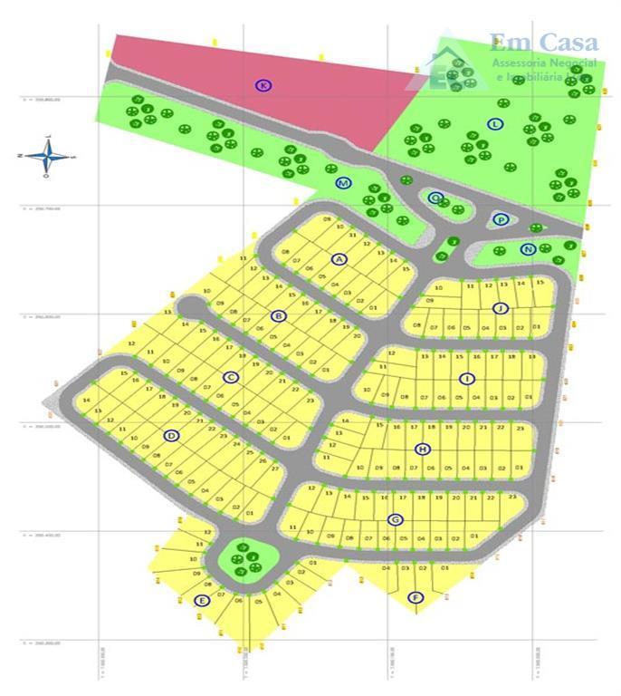 Terreno residencial à venda, Vale das Oliveiras, Limeira - TE0084.