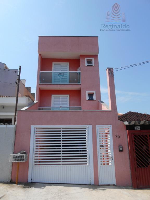 756ae297b1571 ótima cobertura sem condomínio com 2 dormitórios sendo um com sacada, sala,  cozinha,