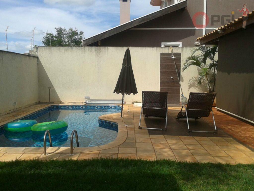 Casa em Condomínio Fechado Bonfim Paulista, Ribeirão Preto - CA1554.