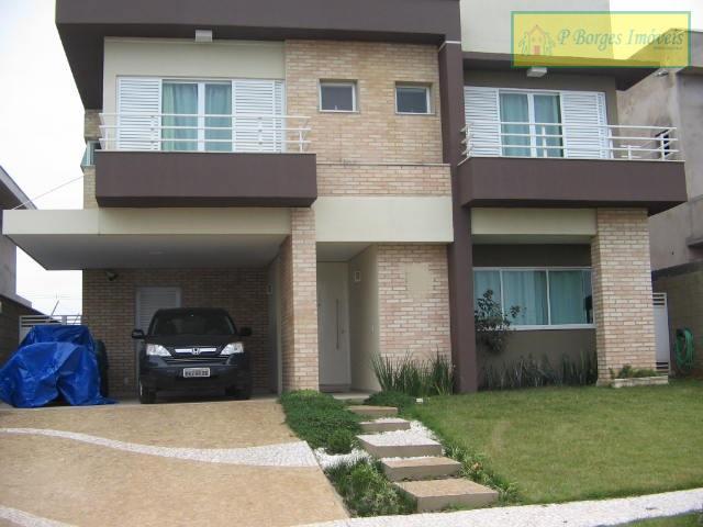 Sobrado à venda, c/ 3 suites  no Condomínio Terras do Cancioneiro - Paulínia.