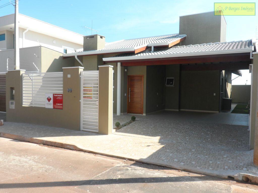 Casa  com 3 dormitórios, Residencial Terras do Barão - Campinas.