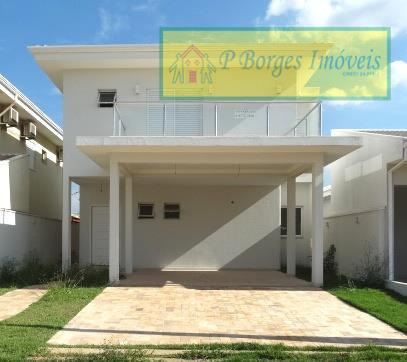 Sobrado à venda, 3 suítes, Condomínio Reserva Real - Paulínia
