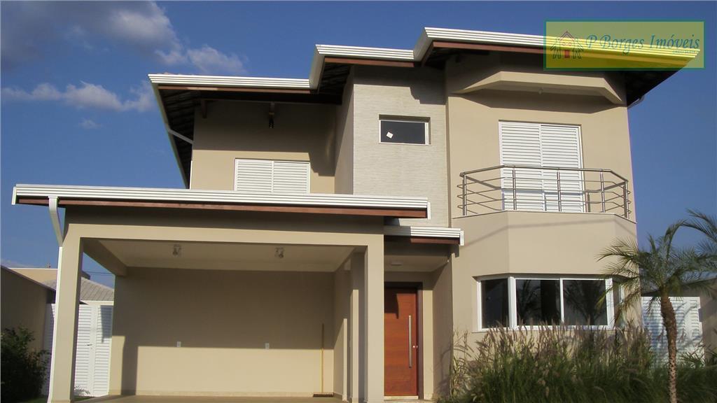 Sobrado à venda  no Condomínio Terras do Cancioneiro - Paulínia - com 4 dormitórios, sendo 3 suítes.