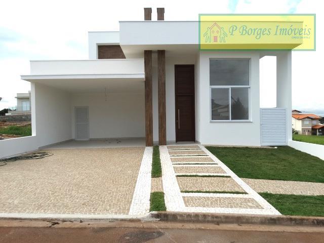 Casa térrea, 3 suítes, Condomínio Villa Franca - Betel - Paulínia