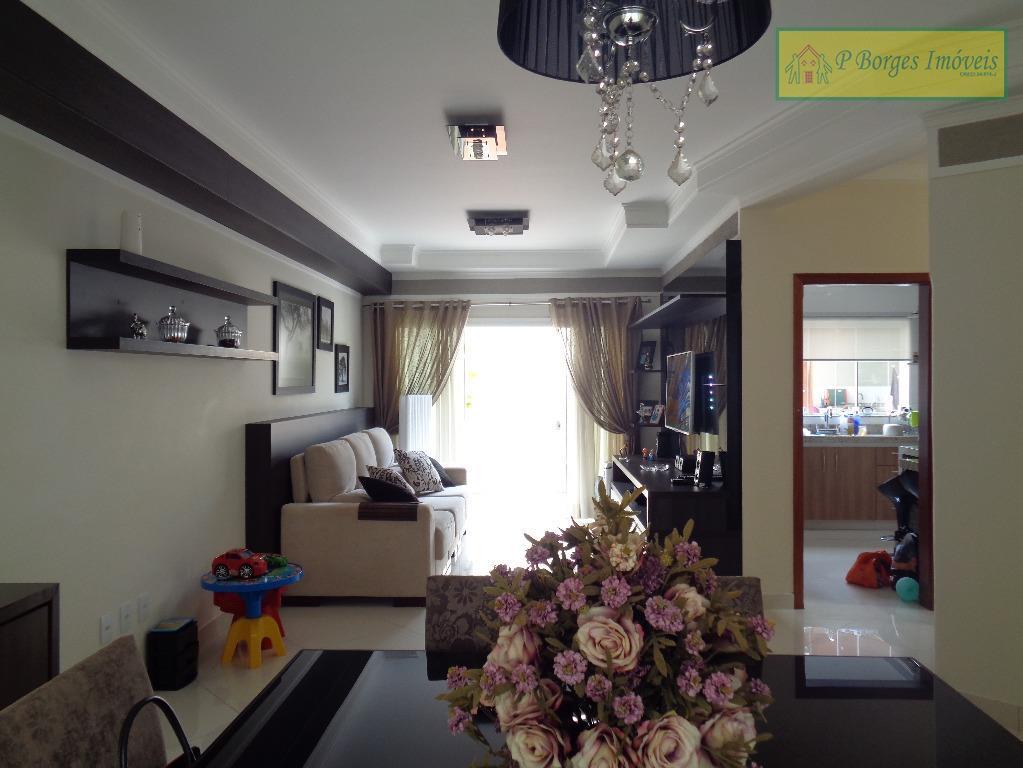Sobrado lindíssimo c/ 3 suites  em Terras do Barão - Campinas