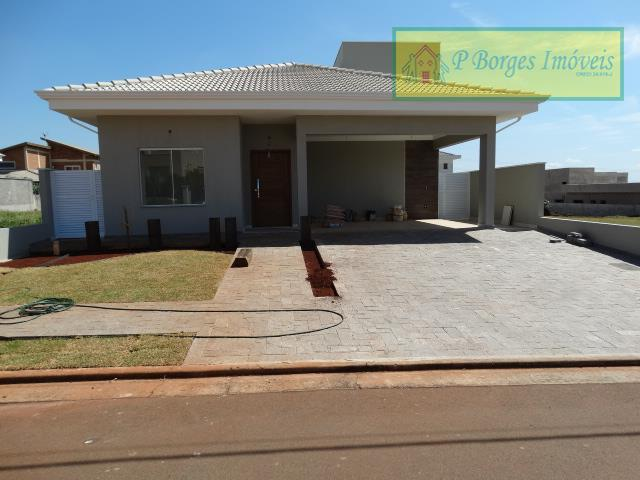 Casa térrea - 3 suítes -Condomínio Cancioneiro  - P. Brasil -Paulínia