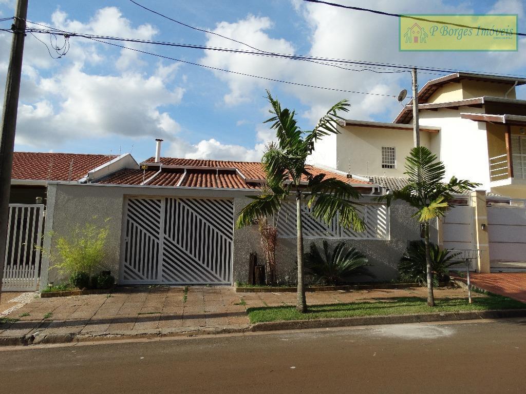 Casa térrea 3 dormitórios - 1 suíte - Terras do Barão - Campinas