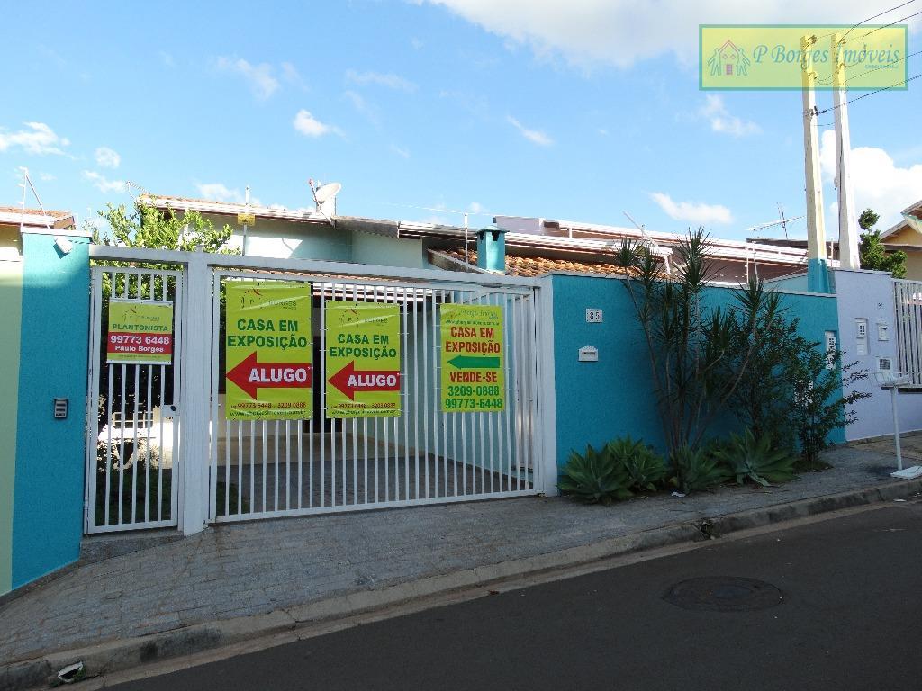 Aluguel R$2.300,00Casa 3 dormitórios - vende ou aluga - Terras do Barão - Campinas
