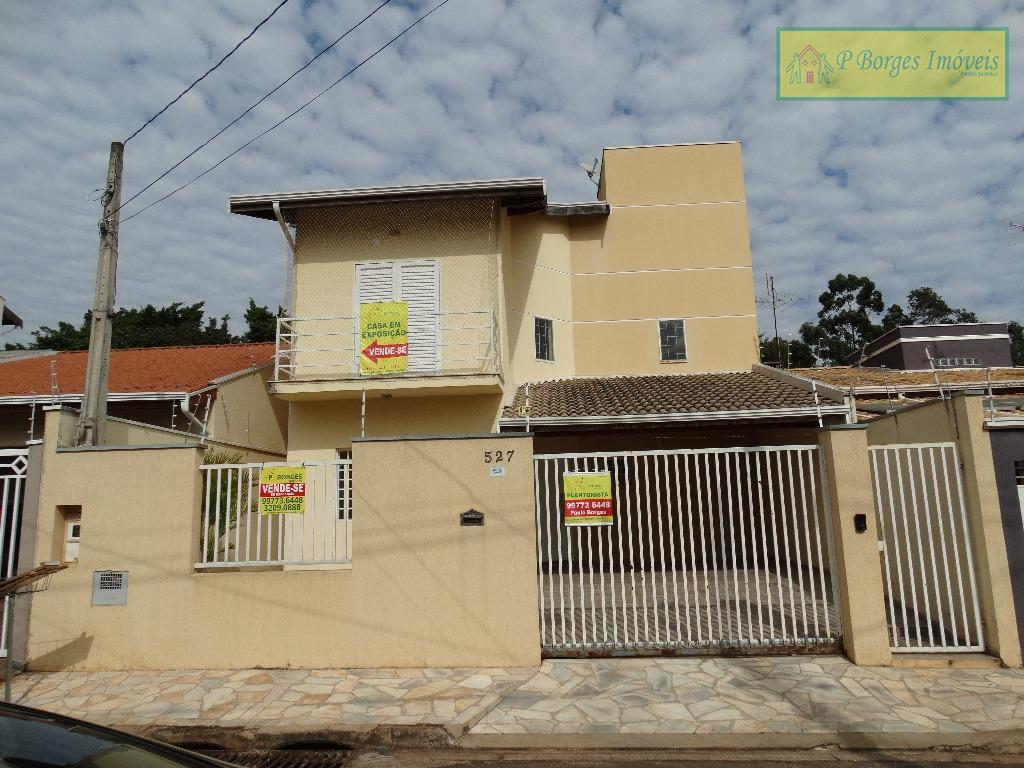 Sobrado residencial à venda, Residencial Terras do Barao, Campinas.