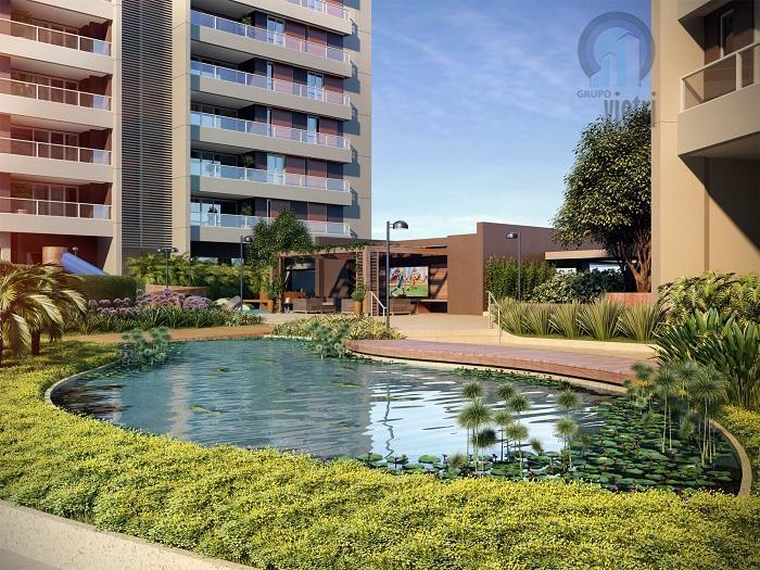 Apartamento 128m²,3 dorm,1 suite, 3 vagas, com depósito em construção à venda, Vila Anastácio, São Paulo.