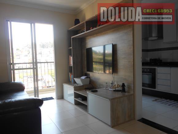 Apartamento residencial à venda, Vila das Belezas, São Paulo.