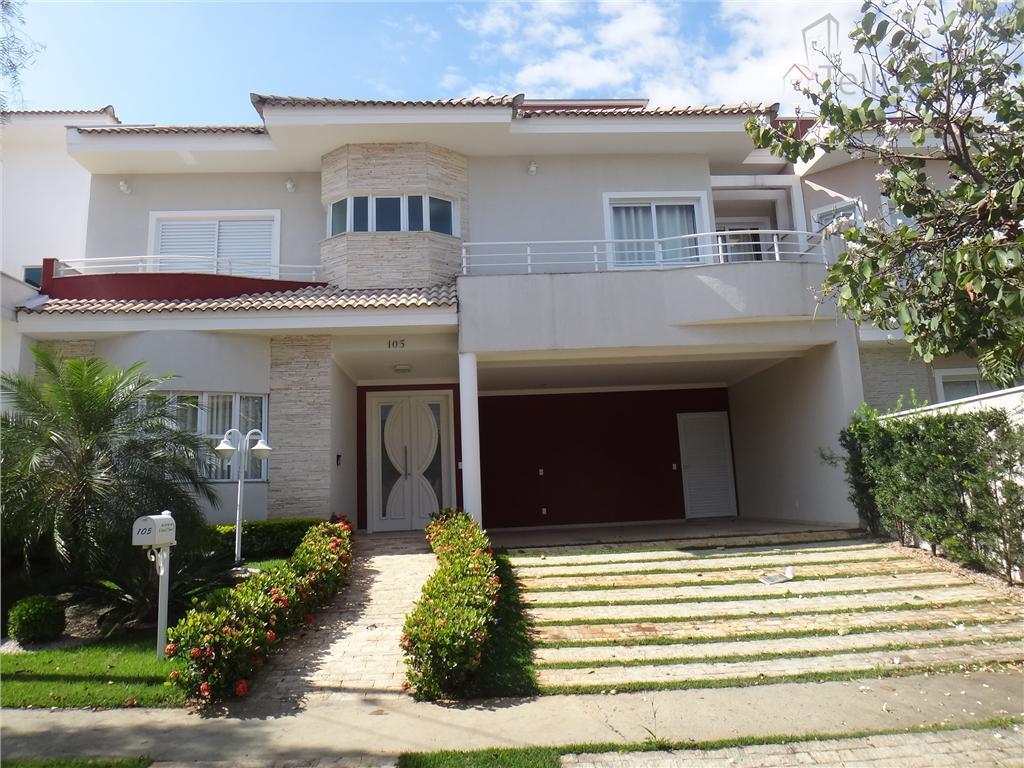 Excelente sobrado 3 suítes semi nova, alto padrão, Condomínio Lago da Boa Vista, Sorocaba.