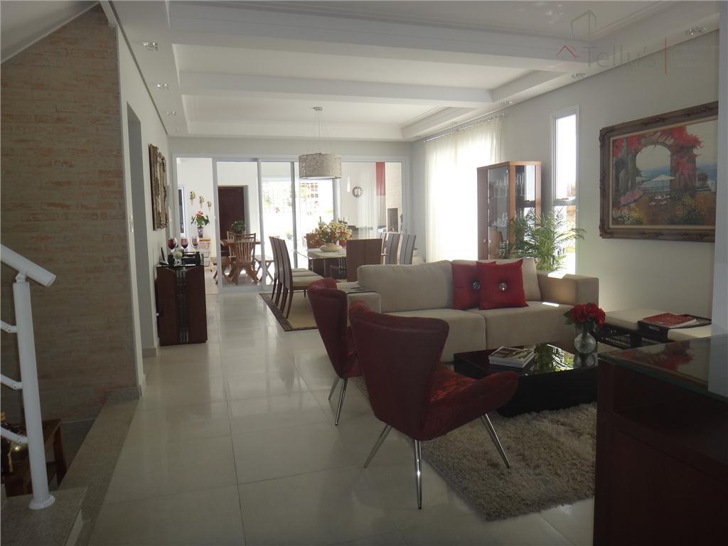 Casa Alto Padrão 4 suítes + edicula à venda, Condomínio Lago da Boa Vista, Sorocaba. Permuta até 40%