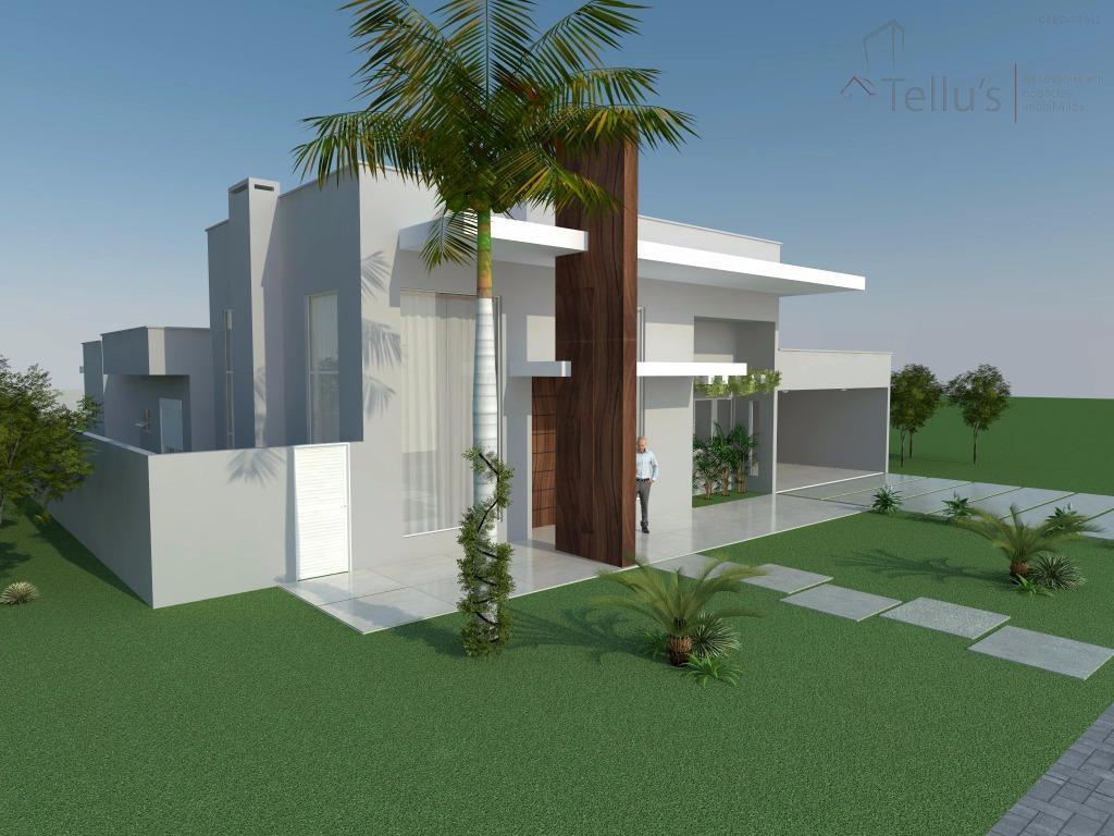 Excelente casa t rrea 3 su tes e piscina em constru o for Piscina 4 esquinas