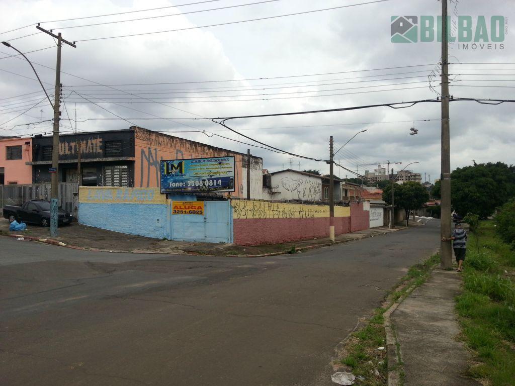 Terreno  comercial para locação, Vila São Bento, Campinas.