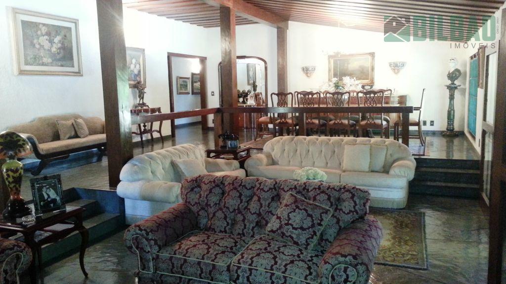 casa cinematográfica em sousas, alto padrão com 4 suítes sendo uma master, ampla varanda, salão de...