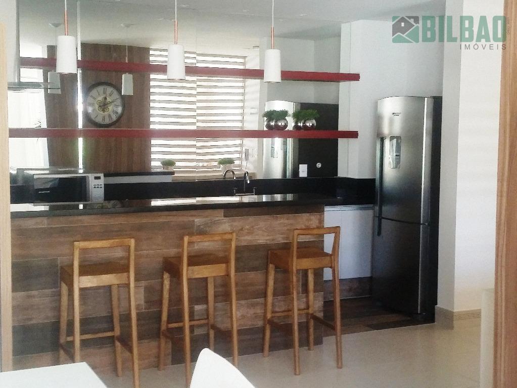 excelente apartamento no guanabara em campinas, novo, com três dormitórios, sendo um suíte, living para dois...