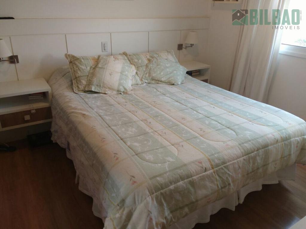 lindo apto na mansões santo antonio em campinas, 123m² de área útil, 3 suítes, amplo living,...