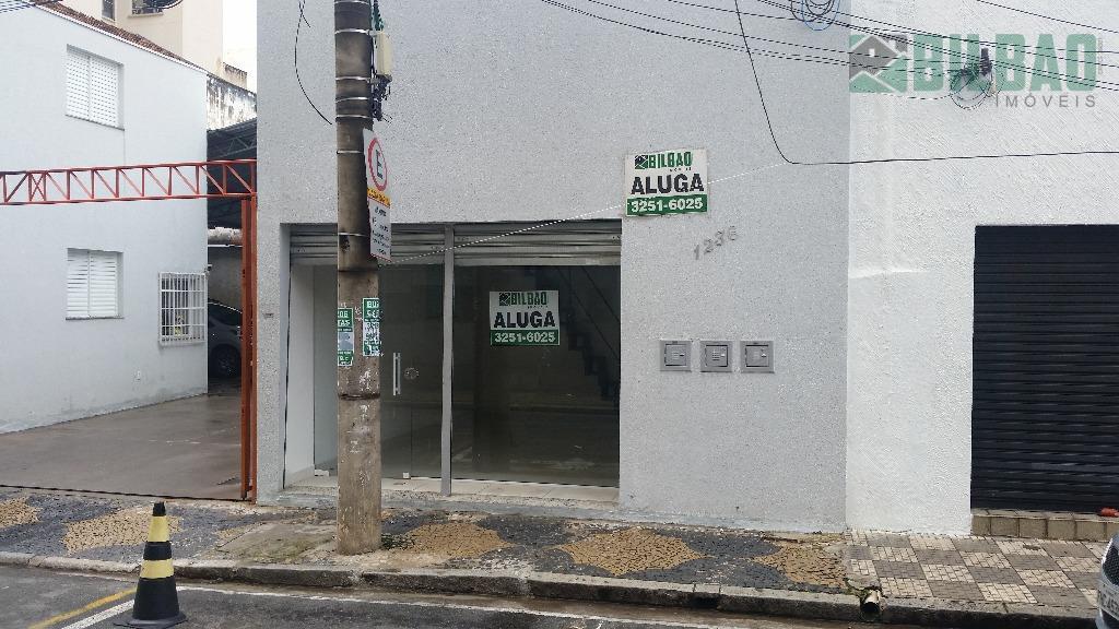Salão comercial para locação, Centro, Campinas - SL0010.