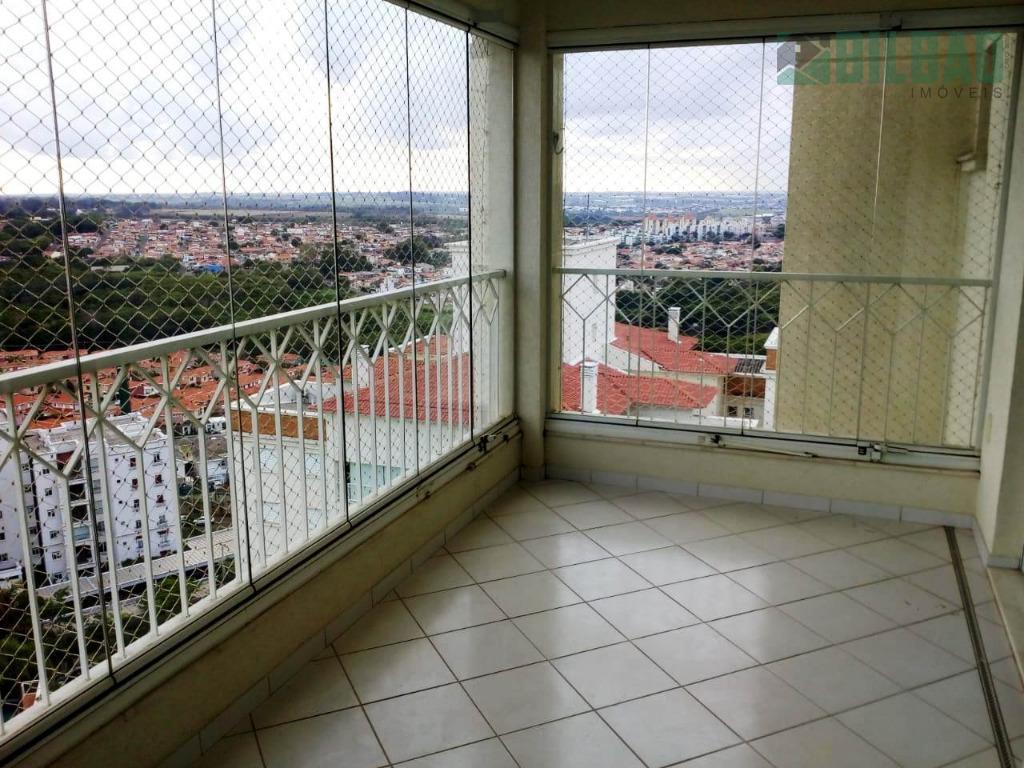 Apartamento à venda, 137 m² por R$ 1.050.000 - Mansões Santo Antônio - Campinas/SP