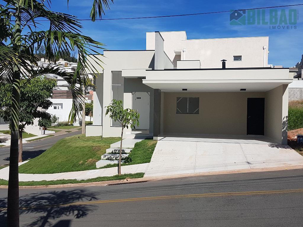 Casa térrea em condomínio com 3 suítes à venda, R$ 785.000 - Loteamento Residencial Santa Gertrudes - Valinhos/SP