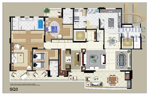 Apartamento residencial à venda, Jardim, Santo André.