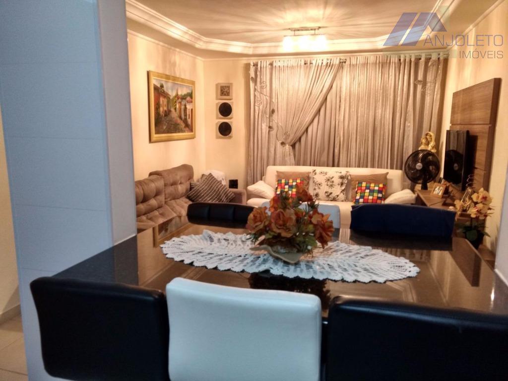 Apartamento Residencial Venda Nova Americana Americana  -> Sanca De Gesso Sala De Tv