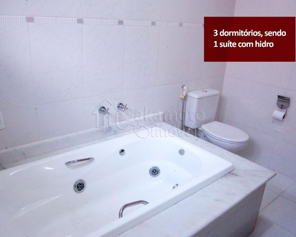 Sakamoto Imóveis - Casa 3 Dorm, Vila Barcelona - Foto 9
